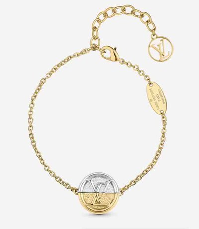 Louis Vuitton Keyrings & Chains BRACELET L TO V Kate&You-ID9721