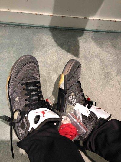 Jordan Baskets Jordan 5 X off white  Kate&You-ID6775