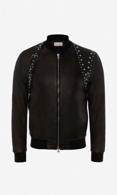 Alexander McQueen Leather Jackets Kate&You-ID7730