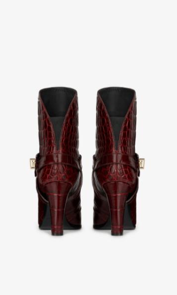 Givenchy - Stivali per DONNA BOTTINES EDEN EN CUIR FAÇON CROCODILE online su Kate&You - BE601SE0LG-604 K&Y8614