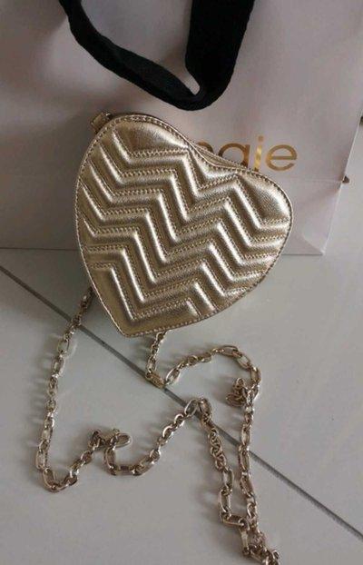 Миниатюрные сумки - Maje для ЖЕНЩИН онлайн на Kate&You - Maje Paris 1 gold - K&Y1749