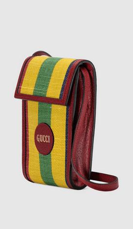 Gucci Cross Body Bags Mini-sac en toile à rayures Baiadera  Kate&You-ID8396