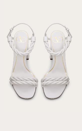 Valentino Garavani - Sandals - SANDALES THE ROPE EN NAPPA for WOMEN online on Kate&You - TW0S0Y24LWS001 K&Y8557