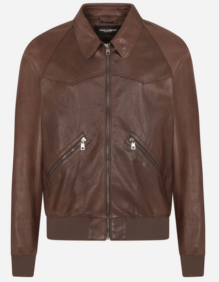 Dolce & Gabbana Leather Jackets Kate&You-ID9907
