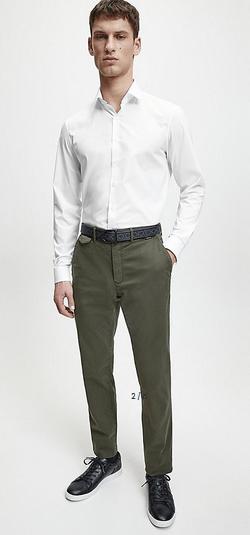 Calvin Klein - Chemises pour HOMME online sur Kate&You - K10K105461 K&Y9041