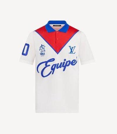 Louis Vuitton Polo Shirts Équipe LV Kate&You-ID11787