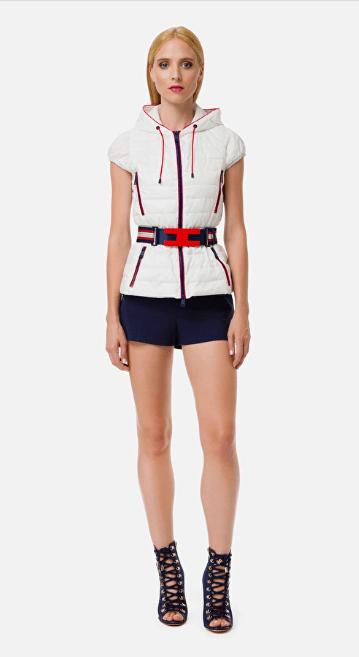 Elisabetta Franchi - Gilets & Vestes Sans Manches pour FEMME online sur Kate&You - PI20Z01E2 K&Y7130