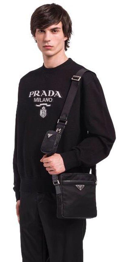 Prada - Shoulder Bags - for MEN online on Kate&You - 2VH112_2DMH_F0002_V_WOP  K&Y11327