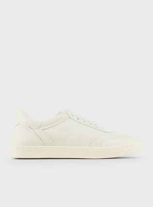 Giorgio Armani Trainers Sneakers en cuir Kate&You-ID8544