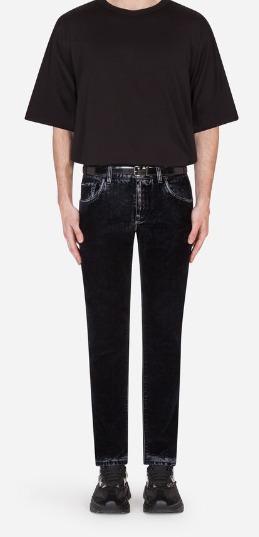 Dolce & Gabbana - Jeans cropped per UOMO online su Kate&You - K&Y9248