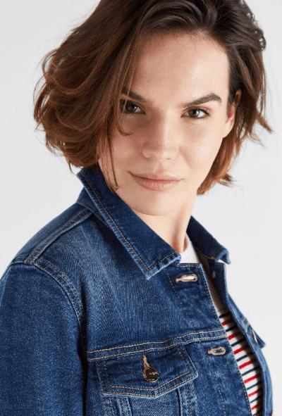 Cortefiel - Giacche di jeans per DONNA online su Kate&You - 5037204 K&Y7298