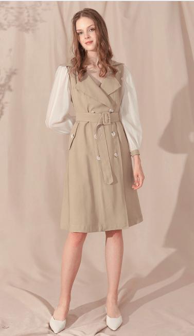 Двубортные пальто - Chicwish для ЖЕНЩИН онлайн на Kate&You - D190827024 - K&Y7329