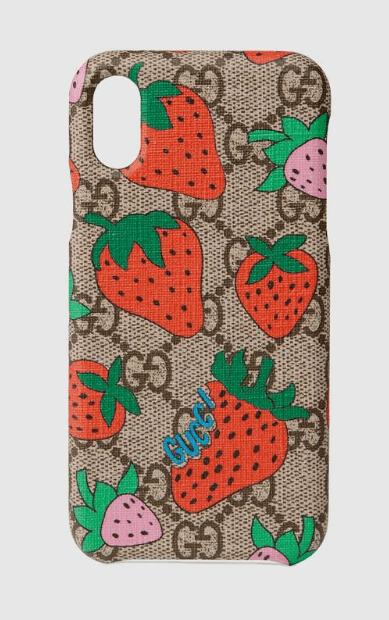 Gucci - Coques Smartphone pour FEMME online sur Kate&You - 587678 G3E0T 8919 K&Y6365