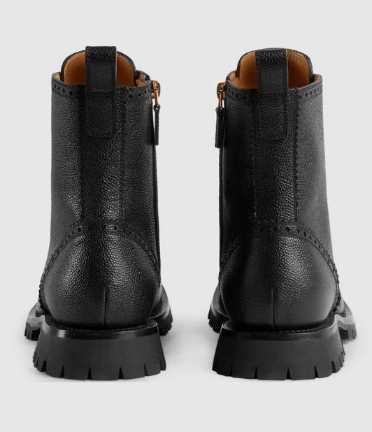 Gucci - Bottes & Bottines pour HOMME online sur Kate&You - 575109 DHR00 1000 K&Y6174