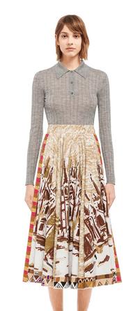 Длинные юбки - Prada для ЖЕНЩИН онлайн на Kate&You - P166R_1XE3_F0005_S_201 - K&Y9039