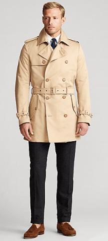 Ralph Lauren - Trench Coats & Macs - for MEN online on Kate&You - 509278 K&Y10060
