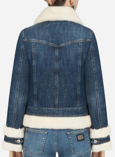 Dolce & Gabbana - Vestes en Jean pour FEMME online sur Kate&You - K&Y9177