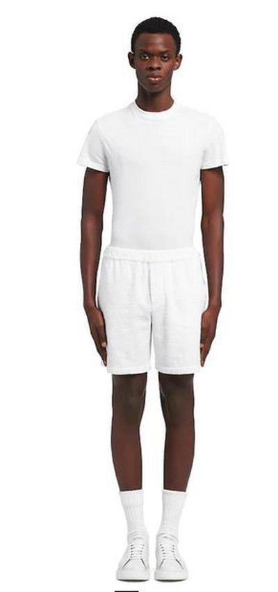 Prada - Bermuda Shorts - for MEN online on Kate&You - SPH154_1ZR3_F0009_S_212  K&Y10920
