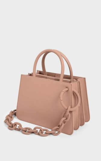 Charles&Keith - Mini Bags - for WOMEN online on Kate&You - CK2-30781122_BLUSH K&Y6897