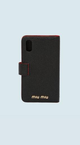 Miu Miu - Coques Smartphone pour FEMME online sur Kate&You - 5ZH106_2BC3_F0002 K&Y6480