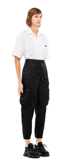 Prada - Pantaloni dritti per DONNA online su Kate&You - 22H827_1WQ8_F0002_S_202 K&Y9536