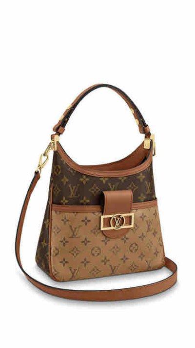 Louis Vuitton Tote Bags DAUPHINE HOBO PM Kate&You-ID8208
