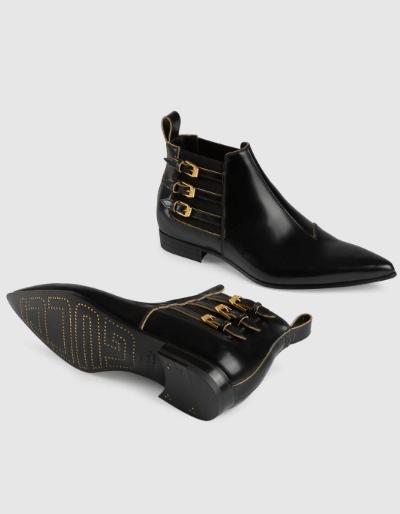 Gucci Boots Bottines en cuir pour homme Kate&You-ID8638