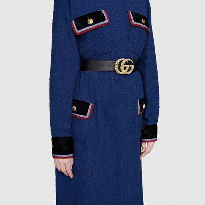 Gucci - Cinture per DONNA online su Kate&You - 582348 AP00G 1000 K&Y4425