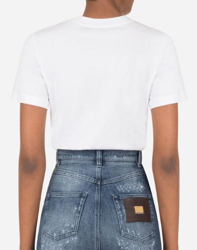 Dolce & Gabbana - T-shirts pour FEMME online sur Kate&You -  K&Y8897