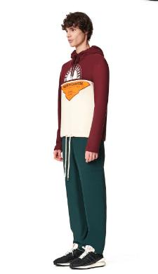 Lanvin - Sweatshirts - PULL À CAPUCHE IMPRIMÉ PATCHWORK for MEN online on Kate&You - RM-JE0022-JR19-A20391 K&Y8524