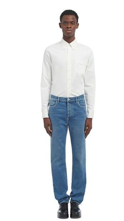 Prada - Wide jeans - for MEN online on Kate&You - GEP336_1ZAB_F0008_S_212 K&Y10925