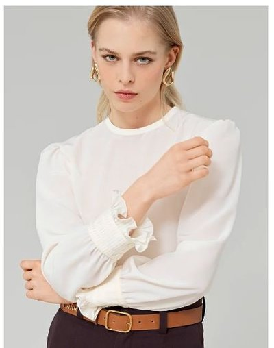 Chloé - Blouses - BLOUSE COL ROND for WOMEN online on Kate&You - CHC21AHT10004115 K&Y11174