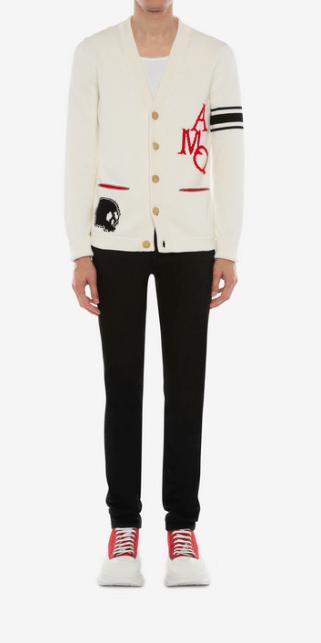 Кардиганы - Alexander McQueen для МУЖЧИН онлайн на Kate&You - 603256Q1GBG9274 - K&Y7770