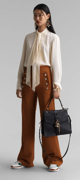Chloé - Palazzo Trousers - for WOMEN online on Kate&You - CHC20SPA84062249 K&Y10537