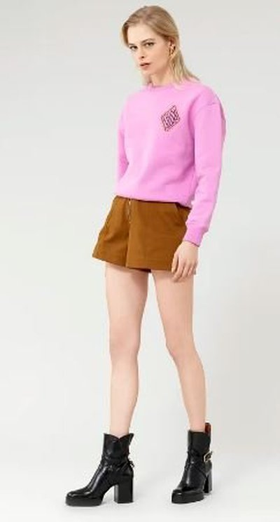Chloé - Sweatshirts & Hoodies - SWEAT COL ROND for WOMEN online on Kate&You - CHC21AJH460856P6 K&Y11175