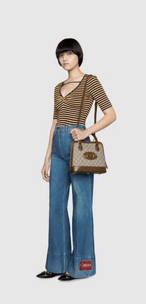 Gucci - Borse tote per DONNA Sac à main détail Gucci Horsebit 1955 petite taill online su Kate&You - 621220 92TCG 8563 K&Y8376