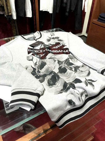 Dolce & Gabbana - Sweats & sweats à capuche pour FEMME online sur Kate&You - K&Y1439