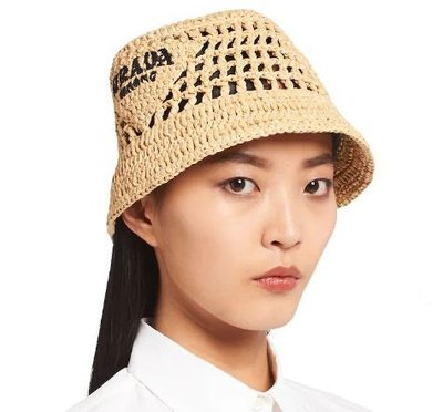 Prada - Hats - for WOMEN online on Kate&You - 1HC137_2A2T_F0018 K&Y10838