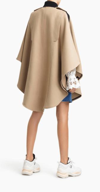 Chloé - Capes pour FEMME online sur Kate&You - CHS20SMA0400420G K&Y7748