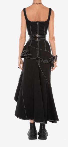 Alexander McQueen - Robes Longues pour FEMME online sur Kate&You - 610544QMAAM1000 K&Y5881