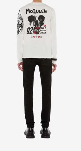 Alexander McQueen - T-Shirts & Débardeurs pour HOMME online sur Kate&You - 599567QOZ690900 K&Y7765