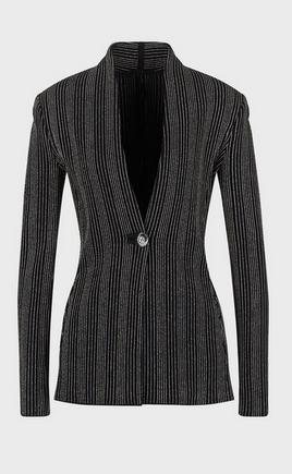 Giorgio Armani Fitted Jackets Kate&You-ID9369