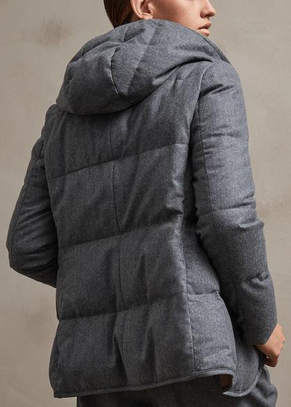 Парки и пуховики - Brunello Cucinelli для ЖЕНЩИН онлайн на Kate&You - SKU 202MT2268976 - K&Y8976
