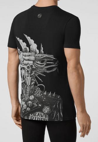 Philipp Plein - T-shirts & canottiere per UOMO online su Kate&You - P20C-MTK4453-PJY002N_0209 K&Y8143