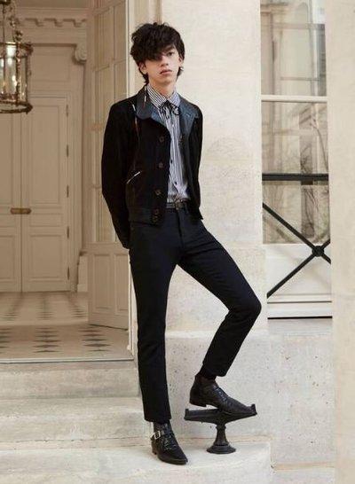 Yves Saint Laurent - Leather Jackets - for MEN online on Kate&You - 660949YC2VV1053 K&Y11659