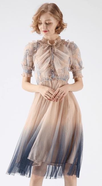 Chicwish - Vestiti a 3/4 per DONNA online su Kate&You - D180802018 K&Y7311