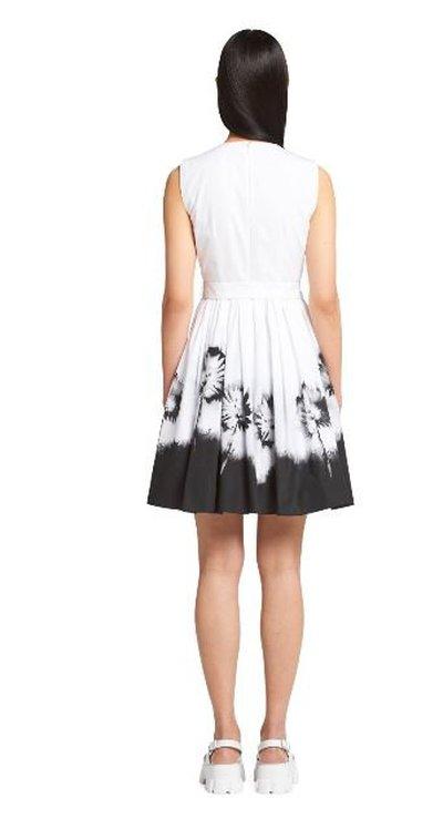Prada - Short dresses - Popeline imprimée for WOMEN online on Kate&You - P3E43_1Y1Q_F0964_S_211  K&Y11183