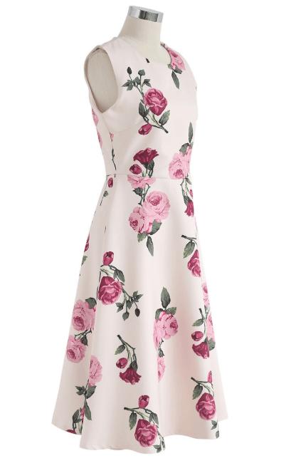 Chicwish - Robes Mi-longues pour FEMME online sur Kate&You - D190420022 K&Y7330