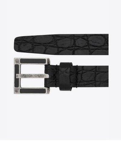 Yves Saint Laurent - Belts - for MEN online on Kate&You - 6694811ZQ7D1000 K&Y11910