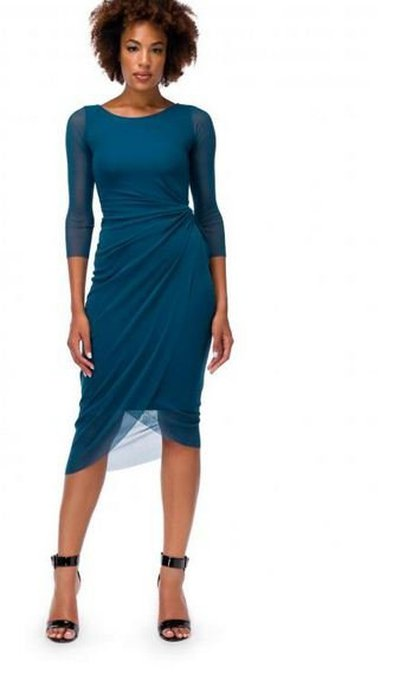 Fuzzi Midi dress Kate&You-ID2713